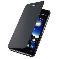 Flip Cover for Asus PadFone E - Black ...