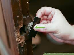 image led hold a door open with a coin step 8