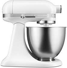 ice blue kitchenaid mixer. KitchenAid KSM3311XFW Artisan Mini Series Tilt-Head Stand Mixer, 3.5 Quart, Matte White Ice Blue Kitchenaid Mixer
