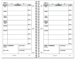 Student Assignment Planner Printable Student Planner Template The Newninthprecinct