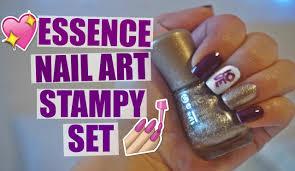 Essence Nail Art Stampy Set | mireyaaxo - YouTube