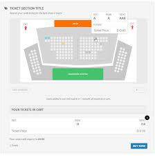 Wordpress Seating Chart Plugin Seats Eventon Eventon
