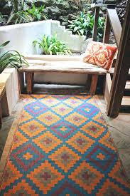 good outdoor patio rug and popular of fab habitat outdoor rug fab habitat indoor outdoor patio rug mat blue orange 58 patio rug 10 x 12