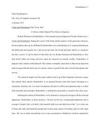 crime and punishment questions crime and punishment essay final