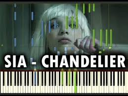 chandelier piano play