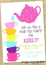 Kids Tea Party Invitation Wording Tea Party Invitation Ideas Feat Afternoon Tea Party Invitations
