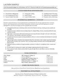 School Administrator Resume Sample Fresh Hr Resume Objective For