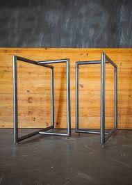 Steel table legs Bench Custom Steel Table Legs Design Build Adventure Custom Steel Table Legs Design Build Adventure