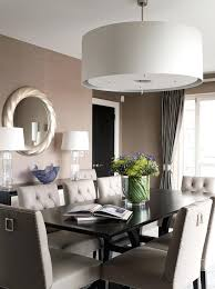 oversized pendant light dining room transitional dinning contemporary  lights large drum shades