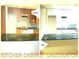 Kitchen Pricing Calculator Kitchen Cabinet Calculator Skiru Co