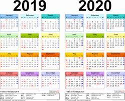Microsoft Excel Calendar 2020 Lovely 48 Illustration Holiday Calendar 2019 2020 Uk Excel