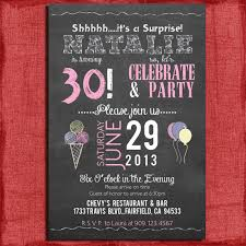 Free 30th Birthday Invitation Templates Birthday Invitation Template