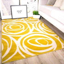 yellow area rug gy abstract wavy swirl 5 x 7 in rugs 5x8 main image of rug yellow