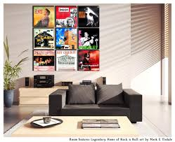 album cover wall art display ideas grouping with art mark on art within rock on rock wall art ideas with wall art ideas rock and roll wall art explore 14 of 20 photos