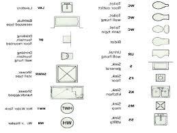 floor plan symbols. Fine Floor Floor Plan Symbols Kitchen Appliances Luxury  Electrical   Intended Floor Plan Symbols K