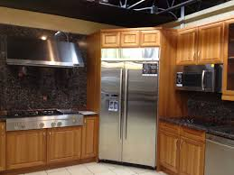 White Spring Granite Kitchen Kitchen Modern White Spring Granite Using Wooden Kitchen Cabinet
