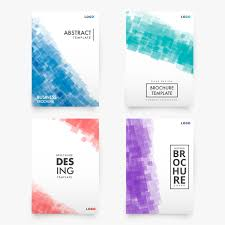Brochures Templates Free Download Abstract Collection Of Modern Brochure Templates Vector Free Download
