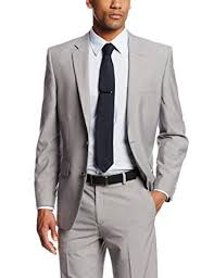 Haggar Mens Tic Weave Tailored Fit Suit Jacket