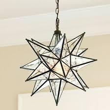 moravian star pendant mercury glass ballard designs inside light fixture design 1