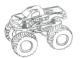 Coloring Pages Blaze Coloring Pages To Print Monster Truck Grave