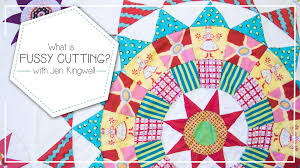 What is Fussy Cutting and How to Fussy Cut Quilting Fabrics by Jen ... & What is Fussy Cutting and How to Fussy Cut Quilting Fabrics by Jen Kingwell  - Fat Quarter Shop - YouTube Adamdwight.com