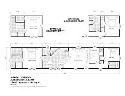 3 bedroom single wide mobile home floor plans luxury 18 elegant trailer home floor plans of