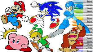 Coloring Pages Supero Bros Coloring Smash Book Pages Sonic Toon