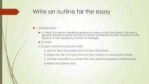 writing a comparison contrast literary analysis 8