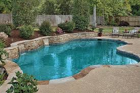 Backyard Pool Designs Landscaping Pools Classy Pools With Retaining Wall With Waterfall 48 Photos From Luxury