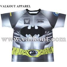 full sublimation printed rugby sports shirts c0710016