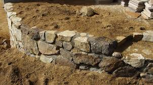 a curved rockwall can make a rock wall much more le grid24 12