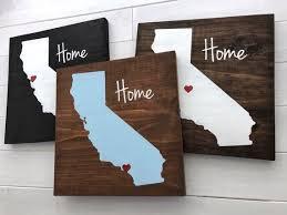 california wall art california wood