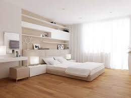 Minimalist Modern Style Master Bedroom Bed Backboards Wooden Design