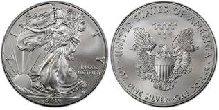 2019 1 Silver Eagle First Day Of Issue Regular Strike