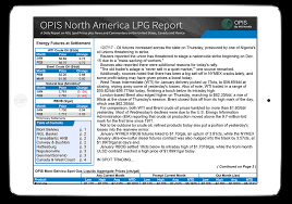 Natural Gas Liquids Price Chart North America Lpg Report For Mont Belvieu Prices Opis