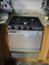 rv mods stove oven to dishwasher conversion cooktop combo conversion