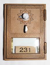 Image result for old fashioned post office box