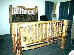 queen log bed – festadelamusica.info