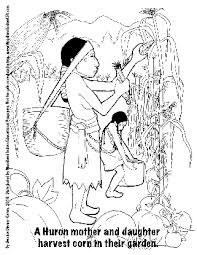 Small Picture Woodland Indian Educational Programs Coloring Pages