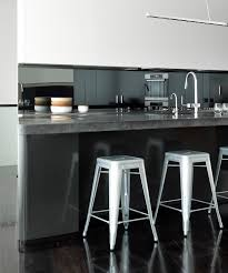 dark polished concrete floor. Solid Polished Concrete Benchtop With Black Oxides Dark Floor S