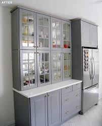 how to stack ikea sektion cabinets as