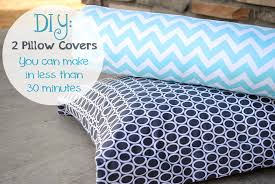easy diy pillow covers crazylittleprojects pillows throws