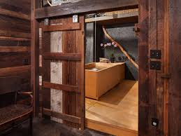 inspiration for an industrial bathroom in portland