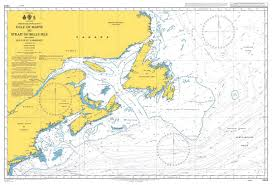 Gulf Of Maine Chart Admiralty Chart 4404 Gulf Of Maine To Strait Of Belle Isle Including Gulf Of St Lawrence