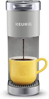 As the name indicates, this mini coffee maker can make enough coffee for 4 servings. Amazon Com Keurig K Mini Plus Coffee Maker Single Serve K Cup Pod Coffee Brewer Comes With 6 To 12 Oz Brew Size K Cup Pod Storage And Travel Mug Friendly Studio Gray Kitchen Dining