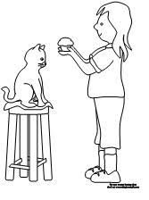 Small Picture Making Learning Fun If You Give a Cat a Cupcake Coloring Pages
