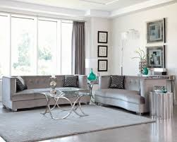 Silver And White Living Room Caldwell Silver Living Room Set From Coaster 505881 Coleman