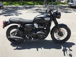 new 2018 triumph bonneville t100 motorcycles in san jose ca