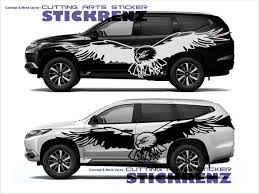 Pajero Sticker Design Pin On Stk Car