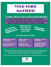 focus group flyers youth focus group